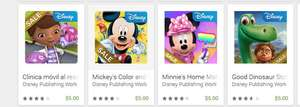 Google Play: apps Disney desde $5, Minnie Fashion Tour, Good Dinosaur Storybook Deluxe y más