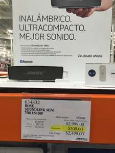 Costco El Palomar GDL: Soundlink mini Bose