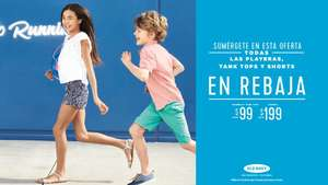 Old navy: Shorts, playeras y tank tops