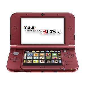 Amazon: New Nintendo 3DS XL Rojo a $3,750 ($3,125 con Banamex)