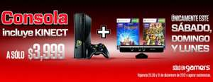 Gamers: Xbox 360 Kinect Holiday Bundle $3,999