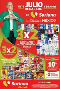 Julio Regalado 2020: Folleto de Ofertas Julio Regalado en Soriana Mercado del 5 al 11 de Junio