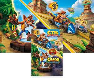 Microsoft store: Crash Bandicoot N. Sane trilogy + Crash Team Racing Nitro Fueled