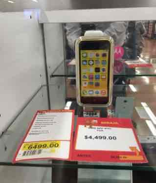 Walmart: iPhone 5C de 32gb a $4,499