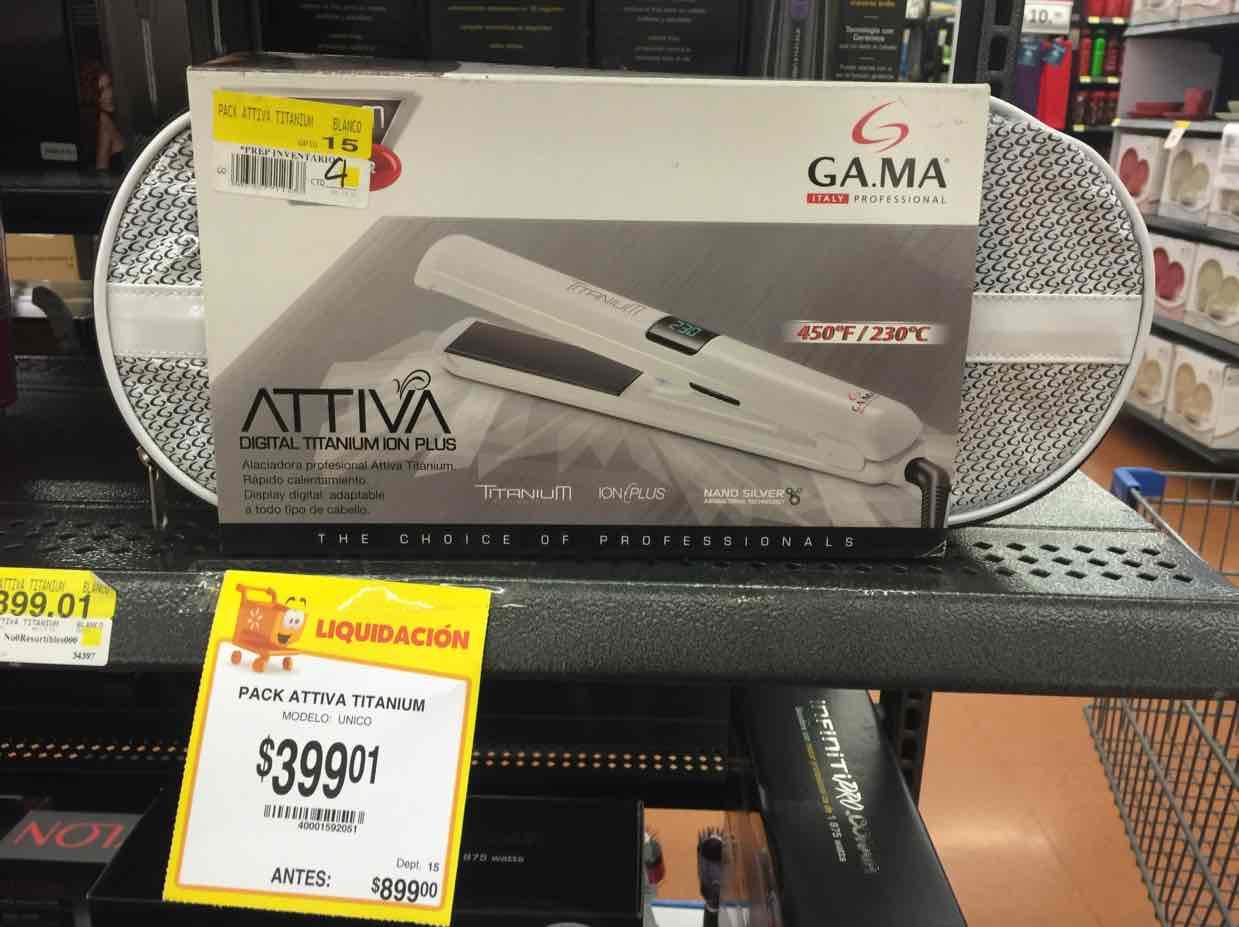 Walmart: plancha para el cabello Artigas de Gama a $399.01
