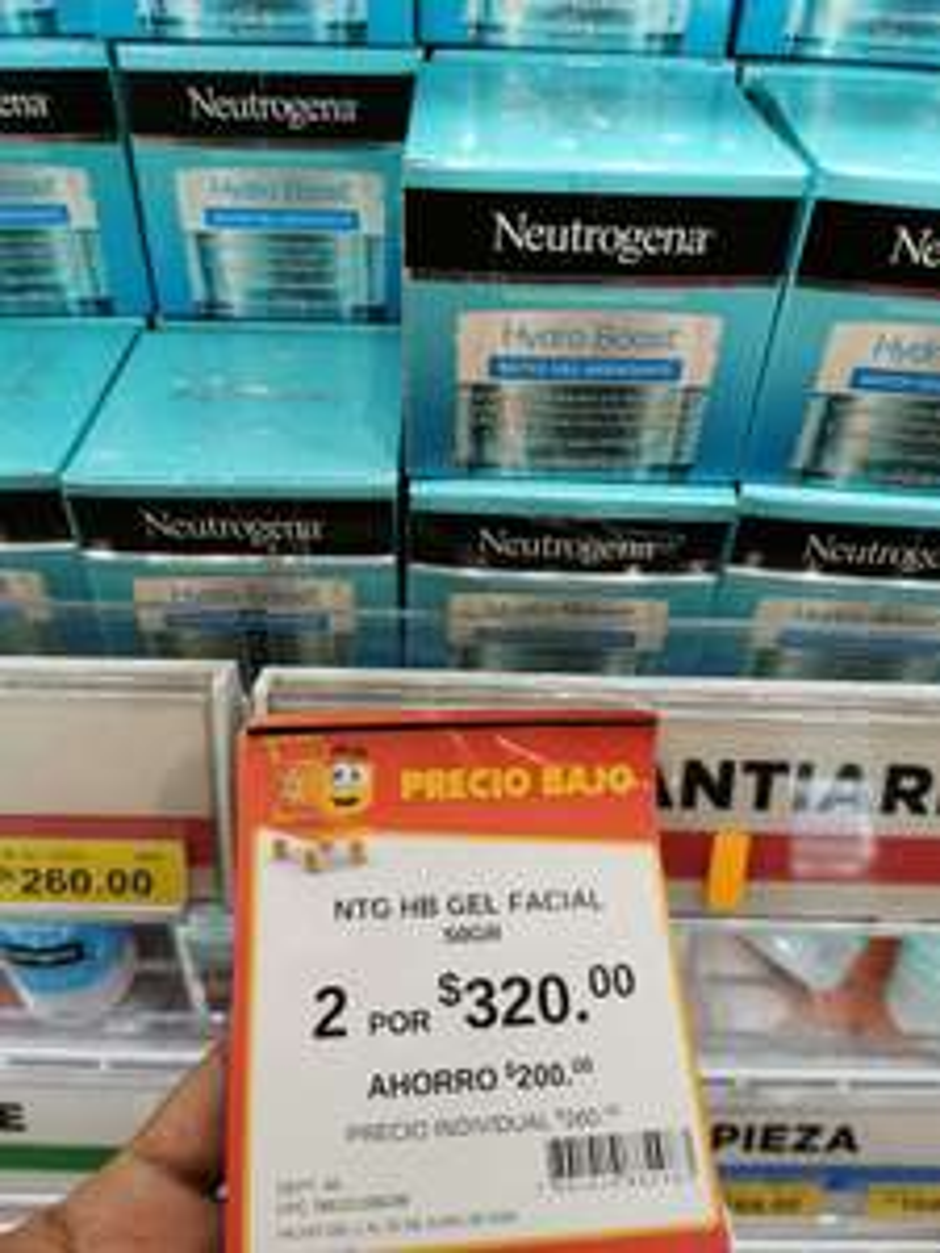 Walmart: 2X1 Gel Facial Neutrogena Hydro Boost