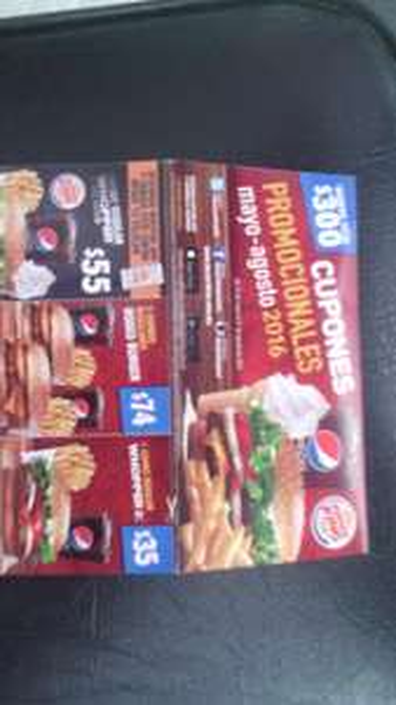 Burger King: Cuponera mayo-agosto 2016