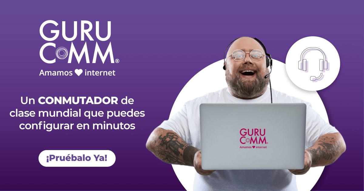 Gurucomm: llamadas e internet Todo realmente ilimitado Redes sociales + Roaming en USA y Canadá