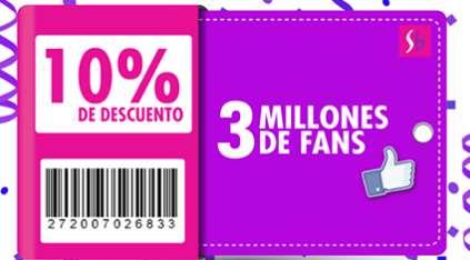 Suburbia: cupón de 10% de descuento (se necesita FB)