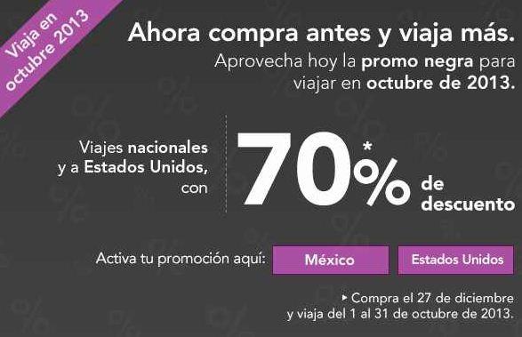 Volaris: 70% de descuento para viajar en octubre (oferta extendida)