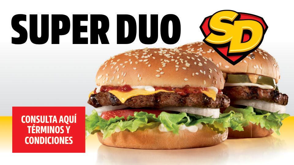 Carl's Jr: Súper Duo