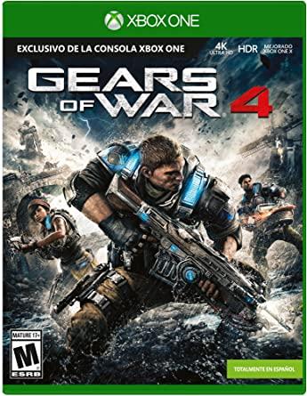 Amazon: Gears of War 4 (edición estandar)