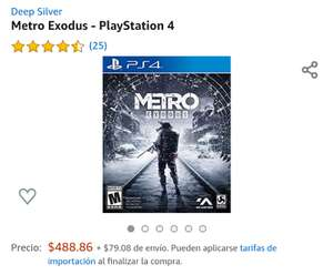 Amazon: Metro Exodus - PlayStation 4