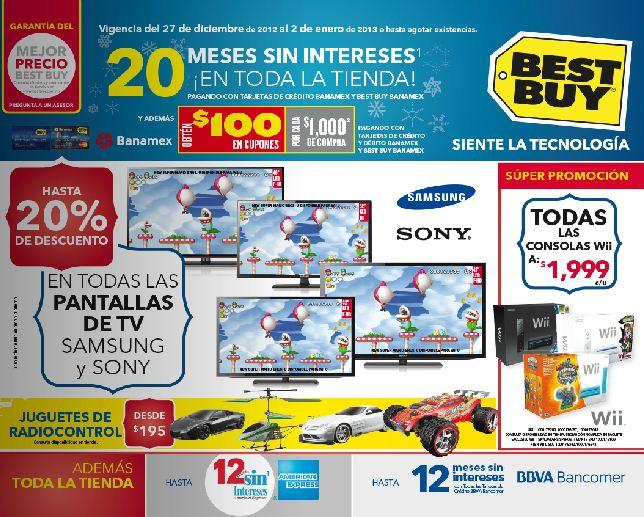 Best Buy: todos los videojuegos a $699, 20% menos en pantallas Sony y Samsung y +