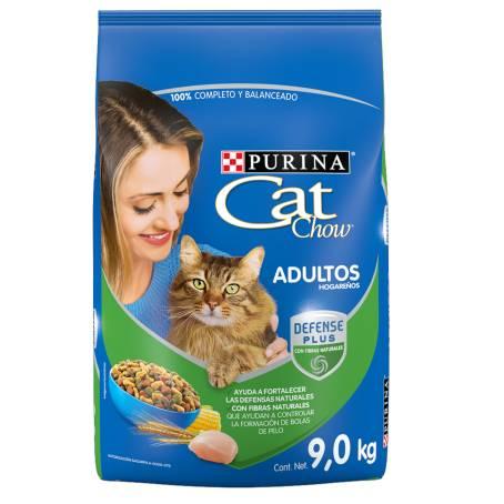 Sam's Club: Purina Cat Chow Adulto 9 kg