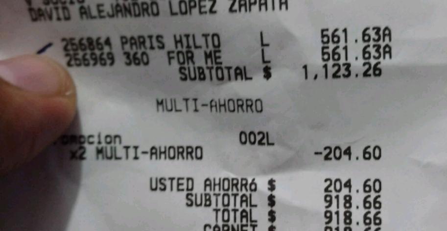 Sam's Club: perfumes en oferta (ej. París Hilton Clasic en $460)