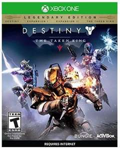 Amazon: Destiny: The Taken King, Legendary Edition para Xbox One y PS4 a $399