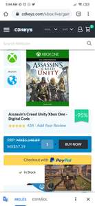 Cdkeys Assassin's creed Unity