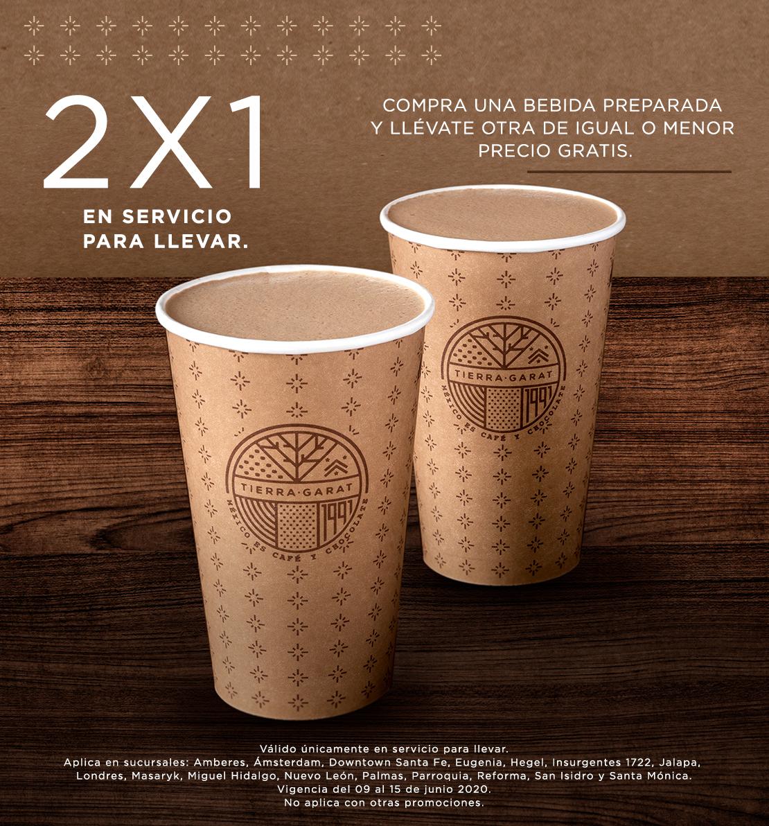 Cafe Tierra Garat 2x1