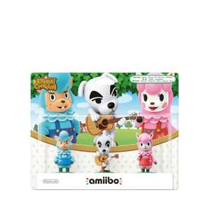 Game Planet: 3 pack Amiibos Animal Crossing