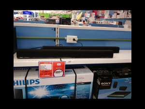 Chedraui Santa Fe Cancún: sound bar Phillips HTL-117 a $995