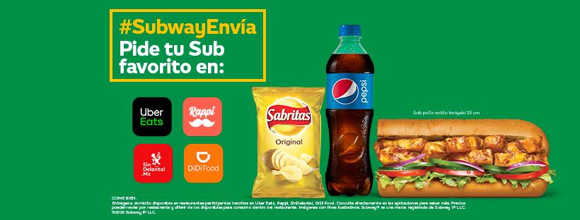 Subway: Maxicombo por $89.00