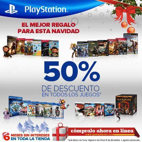 50% de descuento en juegos de PS3, PS Vita, PS2 y PSP
