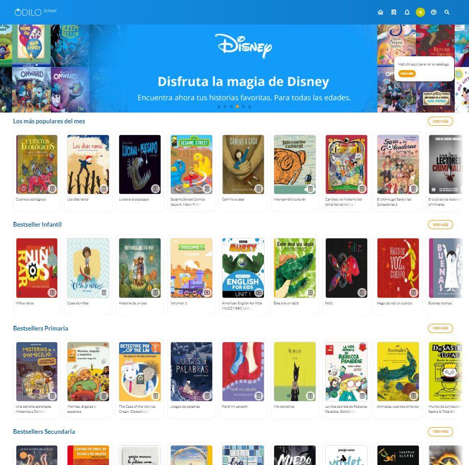 (código Gratis) ODILO biblioteca Digital para niño, adolescentes y jóvenes