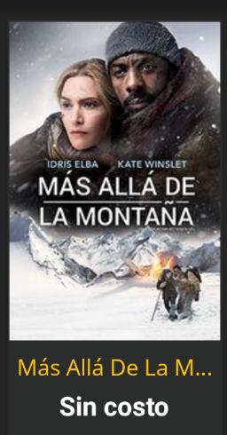 Cinepolis Klic: Más allá de la Montaña Gratis