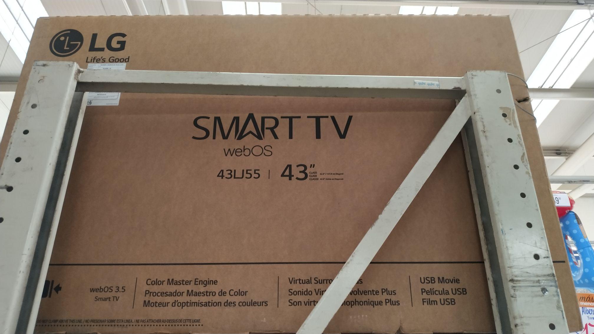 Chedraui: LG smartv WebOS LJ55