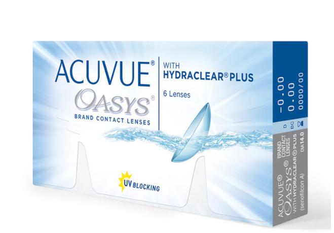 Costco: ACUVUE® OASYS® con HYDRACLEAR® Plus para Miopía o Hipermetropía