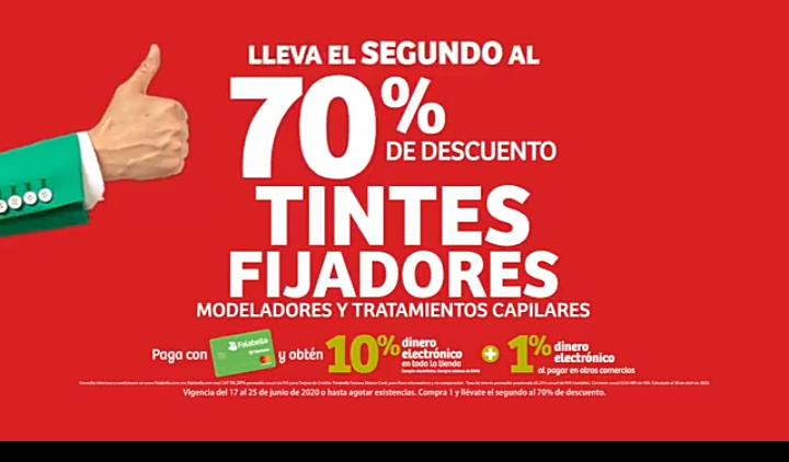 Julio Regalado 2020 en Soriana: 70% de descuento en la.segunda pieza en Tintes, fijadores, modeladores y tratamientos capilares