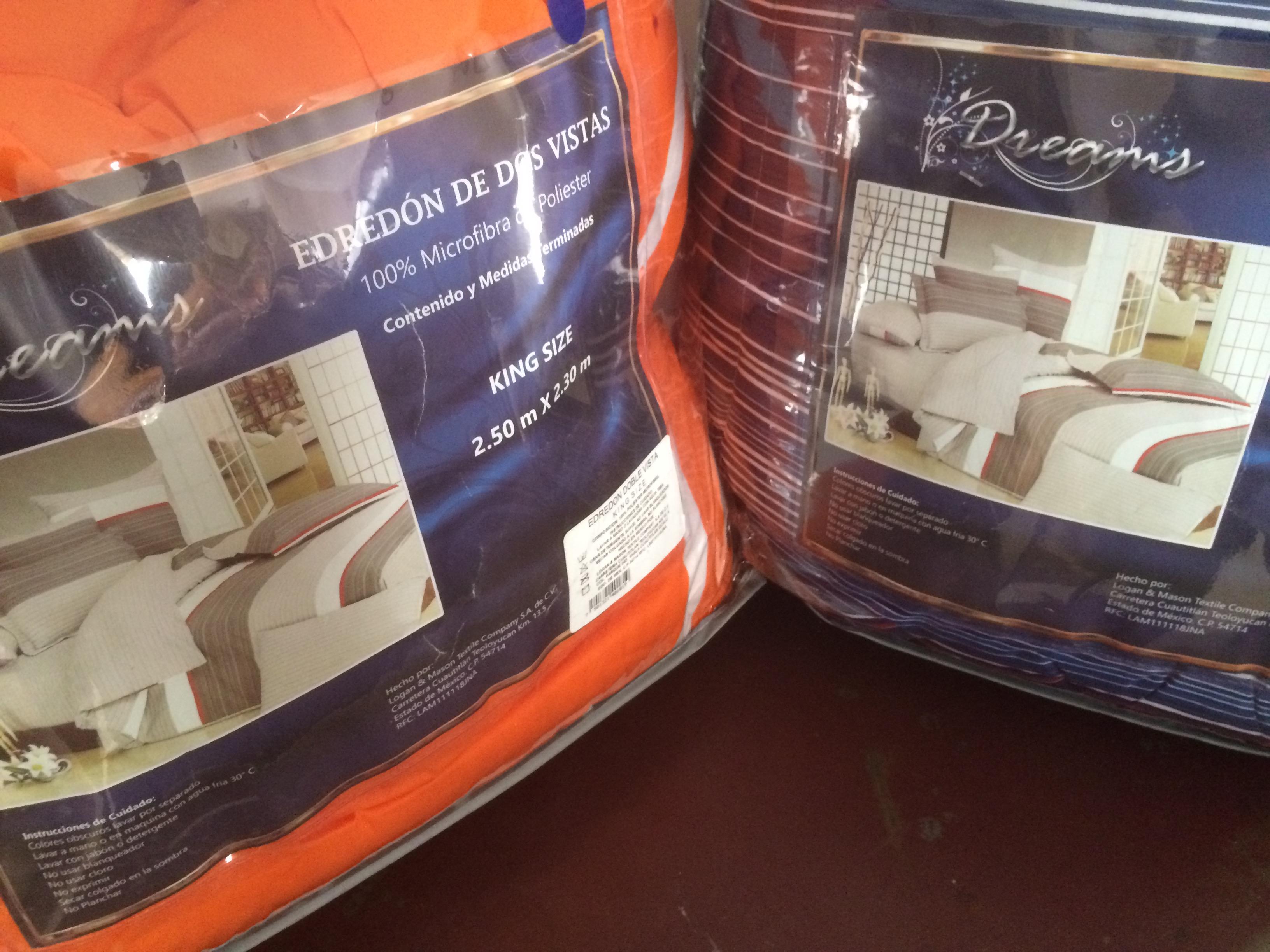 Chedraui: Edredones para cama King-size marca Dreams a $199
