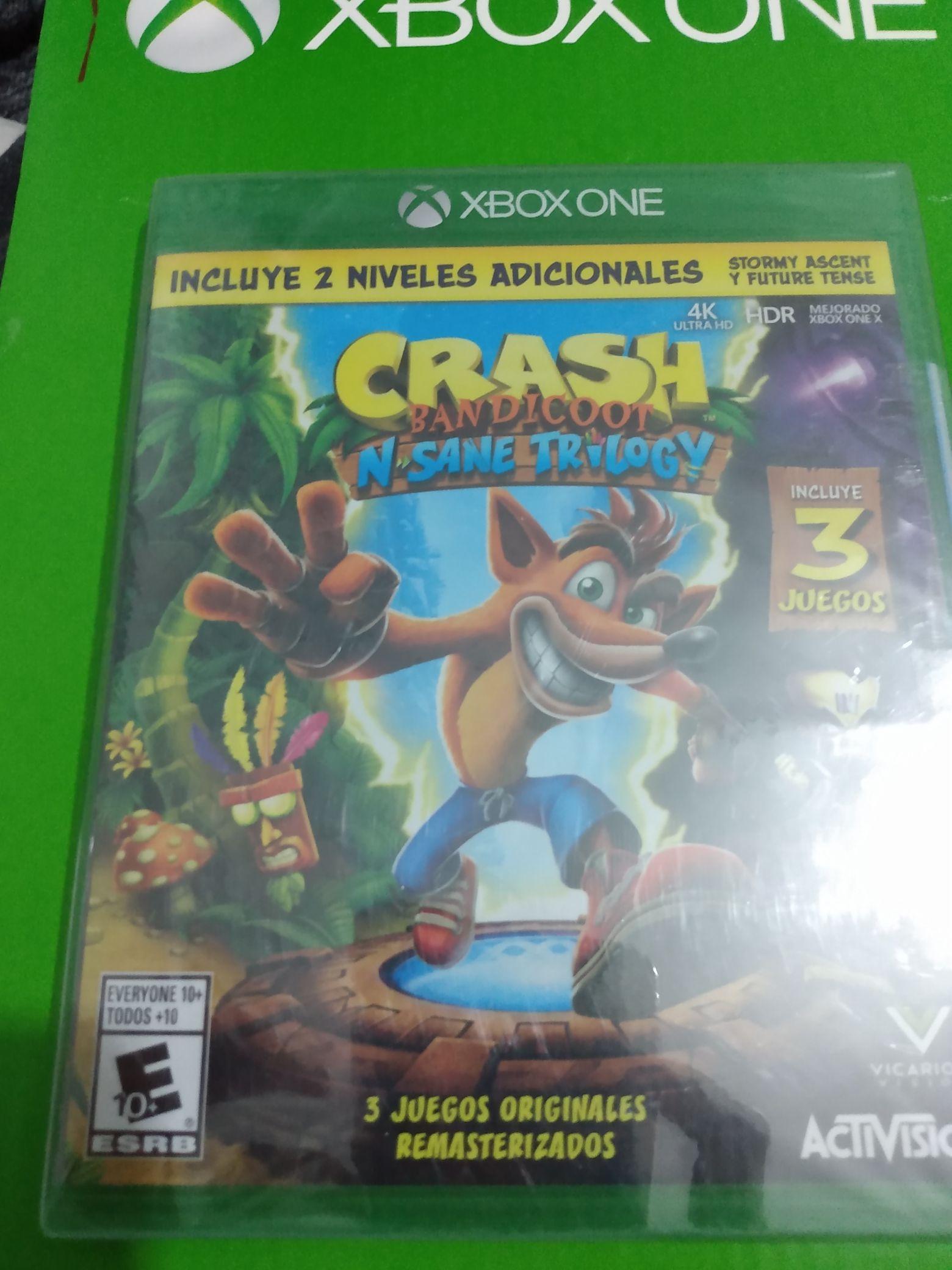 Sam's Club: Crash Bandicoot Trilogy.
