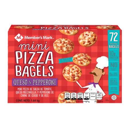 Sam's Club: Mini Pizza Bagels 72 piezas de $357 a $199