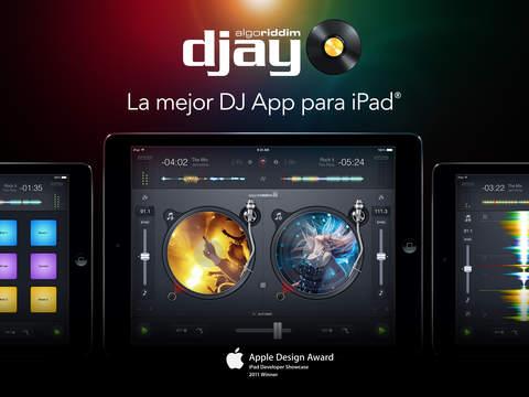 App Store: Reducción de precio en la aplicación djay 2 (algoriddim GmbH), tanto para iPad, como para iPhone/iPod touch.