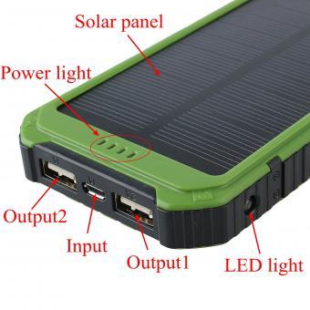 Linio: Panel solar 20000mAh batería banco de la energía con ENVÍO GRATIS (Internacional)