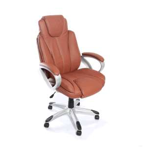 OfficeDepot: Silla Ejecutiva Red Top Sport / Polipiel / Café