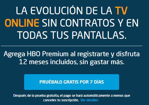 Directv Go: 7 días gratis incluyendo Fox Premium y 12 meses gratis de HBO si te suscribes