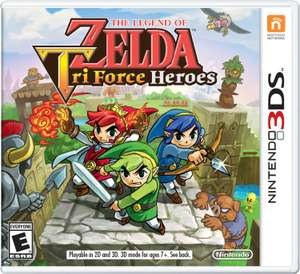 Amazon MX: Zelda Tri Force Heroes a $575