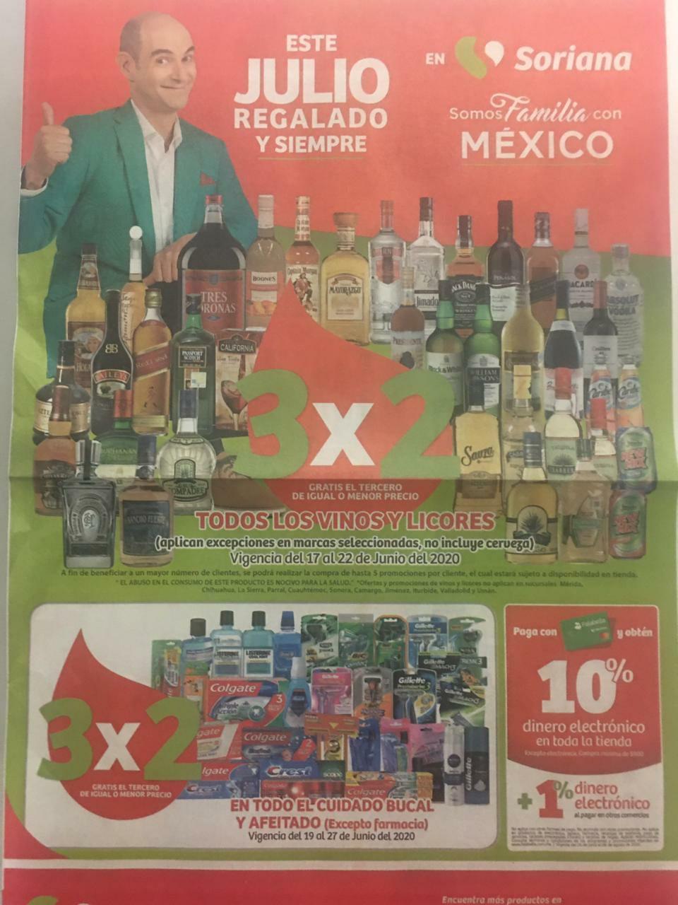 Julio Regalado 2020: Folleto de Ofertas Soriana Mercado y Express del 19 al 25 de Junio