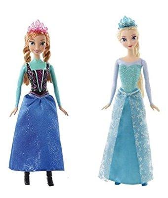 Amazon México: Muñecas Frozen Anna y Elsa a $99 pesos!