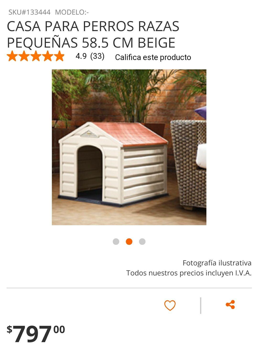 The home depot: casa para perro chica