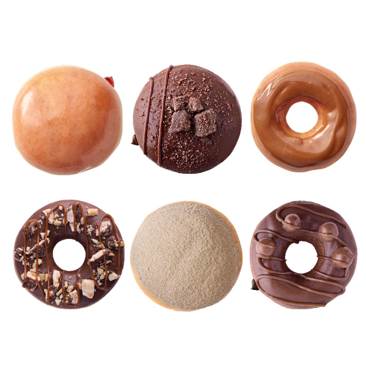 Krispy Kreme 3×2 EN MEDIA DOCENA SELECT