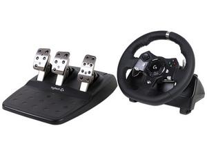 Pcel: Kit de volante y pedalera Logitech 920