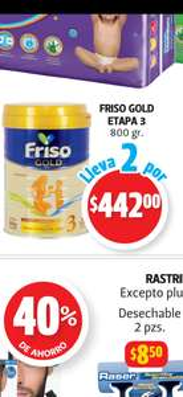 Farmacias Guadalajara: Frisogold etapa de 3 de 800gr (2x$442)