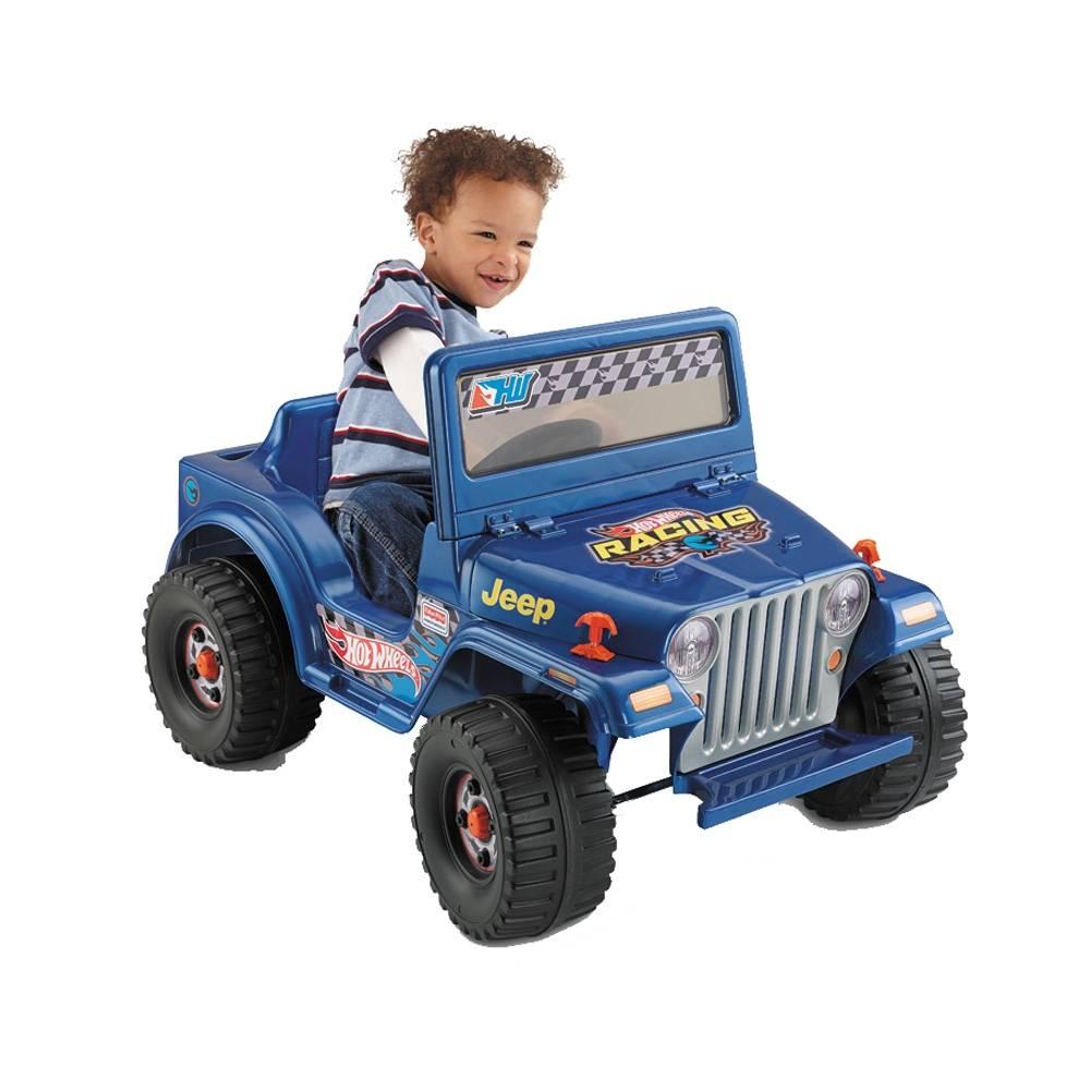 Walmart en línea: Montable Eléctrico - Hot Wheels Lil Wrangle Power Wheels a $999, rebajado de $2499