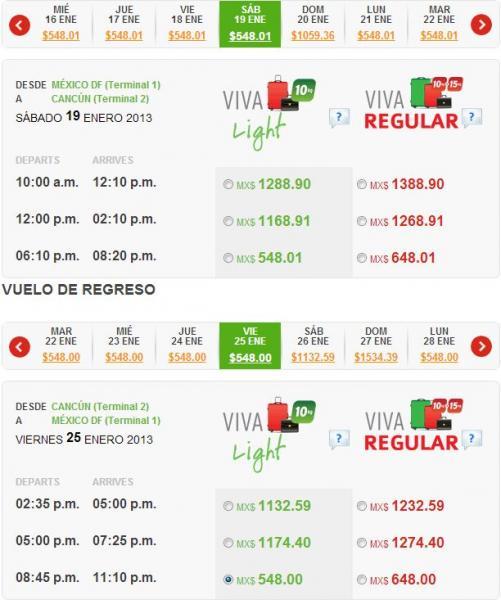 Vivaaerobus: Cancún, Mazatlán y otros destinos desde $548 para enero y febrero