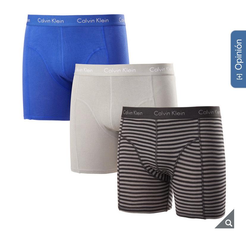 Costco: Calvin Klein, Boxers 3 Piezas para Caballero