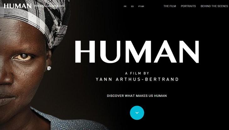 Google Play: Documental/pelicula Human en alquiler gratis
